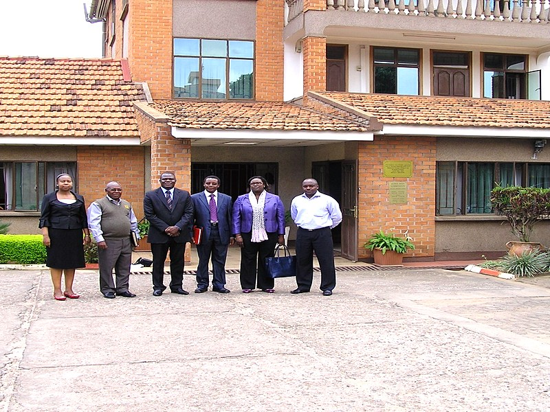 Kigali with Kenya's Ambassador to Kigali and the JKUAT delegation